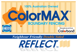 ColorMAX Boundary Fencing
